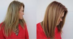 Straight Razor Cut & Deeper Color