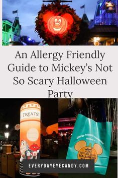A Guide to an Allergy Friendly Mickey's Not So Scary Halloween Party - Everyday Eyecandy Halloween Party Treats, Halloween Cans, Halloween Season, Disney Halloween, Scary Halloween, Disney World Tips And Tricks, Disney Tips, Disney Food, Walt Disney