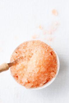Sweet Peach Tea Granita | Paper & Stitch