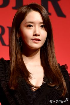 SNSD YoonA at the red carpet event of the 31st Korea Best Dresser Swan Awards