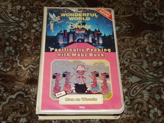 Pacifically Peeking with Moby Duck / Man on Wheels (VHS, 1980s) OOP *NOT ON DVD*