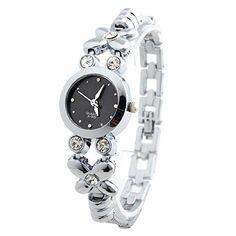 Sale Preis: YESURPRISE Uhr Elegant Legierung Armbanduhr Quarz Damen Uhr Damenuhr mit Strass schwarz Analog Geschenk Xmas Gift watch. Gutscheine & Coole Geschenke für Frauen, Männer und Freunde. Kaufen bei http://coolegeschenkideen.de/yesurprise-uhr-elegant-legierung-armbanduhr-quarz-damen-uhr-damenuhr-mit-strass-schwarz-analog-geschenk-xmas-gift-watch