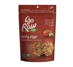Go Raw - Zesty Pizza Sprouted flax snax
