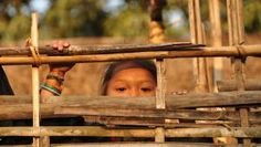 Landsbybarn i Bangladesh