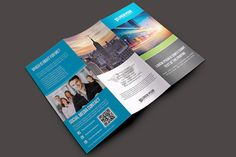 A4 Trifold Business Brochure by Madhabi Studio on Creative Market