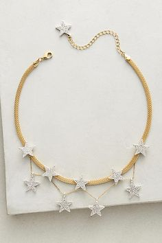 String of Stars Choker - anthropologie.com