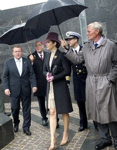 Love this lace and the hat!  Crown Princess Mary of Denmark.