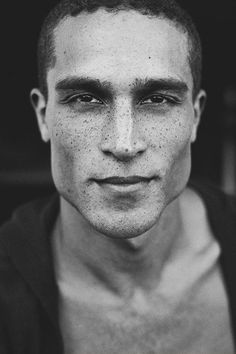 Victor Ross by Solmaz Saberi. I just really want to photograph someone with amazing freckles cause yes