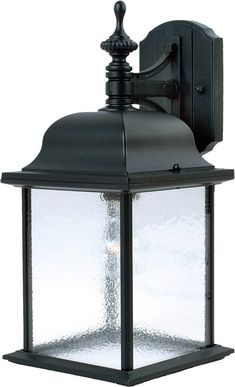 Endorse Collection 1 Light Outdoor Black Led Wall Lantern Progress Lighting Wall Lantern Outdoor Wall Lighting