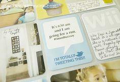 Wildblueberry Ink's freebie tweet journaling card. Love Shirley's designs !