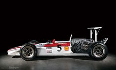 The Honda RA300 was dubbed the 'Hondola' as Lola assisted the car's construction. It scored a victory on its debut in a remarkable race at Monza, after Jim Clark's Lotus ran out of fuel on the last lap. John Surtees beat Jack Brabham in a sprint from the Parabolica to the finish line to win the Grand Prix. After a single appearance in 1968 it was replaced by the RA301.