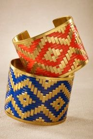 Aztec cuffs- available 10/24 8p CST!