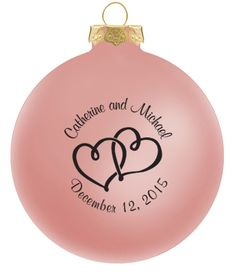 Wedding Ornaments Favors Glass Ball