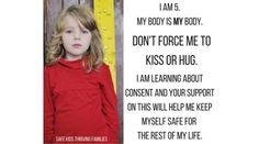 Nie całuj dzieci, nie bierz na kolana, nie przytulaj!