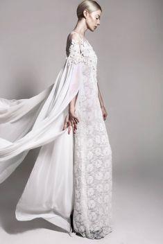 Chic wedding dress idea | Project by Bramanta Wijaya Sposa http://www.bridestory.com/bramanta-wijaya-sposa/projects/flesh-dust-spring-summer-2015-rtw-and-bridal