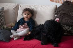How it is to have a baby or a toddler and a dog or even dogs? I´ve always imagined my life with a hubby, kids and pets, just like we all know this kind of. Dogs And Kids, Two Dogs, Animals For Kids, Sleeping A Lot, Everything Has Change, Love You Baby, Cute Toddlers, Crazy Life