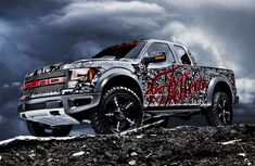 I will take one in matte black!!  Ford Raptor by Miller Photography