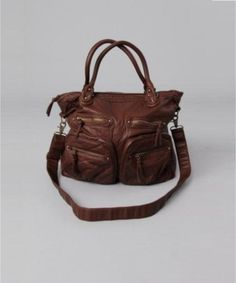 Yetts Shoulder Bag in Brown