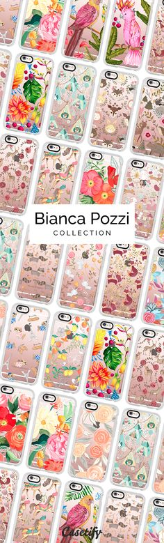 Check out this bunch of cute designs by Bianca Pozzi >>> https://www.casetify.com/biancapozzi/collection | @casetify