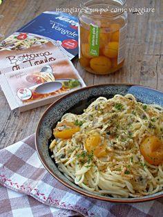 spaghetti vongole e bottarga  / Antartide