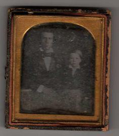 Nat Cheairs with son, Thomas