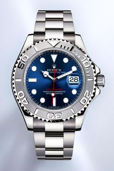 Rolex Yachtmaster in Blue