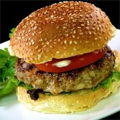 Asian Turkey Burgers - Allrecipes.com