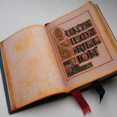 EL ESTUDIANTE DE ARTE QUE COPIÓ A MANO EL SILMARILLION DE TOLKIEN COMO UN MONJE ESCRIBANO : Silmarillion de Tolkien ilustrado por Benjamin Harff