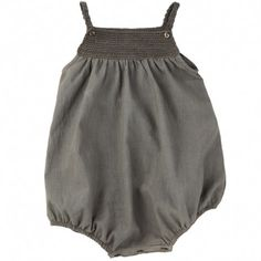 ketiketa - martika romper (asphalt grey)- too cute in bright summer colour- girls