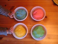 Home-made playdough recipe