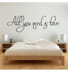 All you need is love My New Room, My Room, Love Decorations, Cute Room Ideas, Music Wall, Dream House Plans, Bedroom Loft, All You Need Is Love, Cozy House