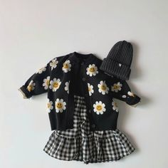 Daisy Knitted Cardigan