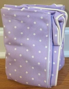 Bedroom Playroom and Dorm D cor 115970: New Pottery Barn Kids Pin Dot My First Anywhere Chair Slipcover Lavender -> BUY IT NOW ONLY: $34.99 on eBay!