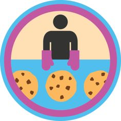 Baking Cookies Badge: Done this too many times to count.