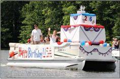Lake Wedowee Fourth of July Boat Parade 2013