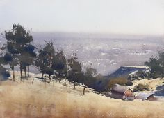 Daniel Marshall, plein air piece from White Ranch Open Space Park