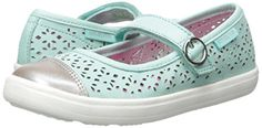 Stride Rite Poppy Mary Jane (Toddler/Little Kid), Turquoise, 12 M US Little Kid Non-marking rubber outsole Hook and loop closure for easy on/off and adjustability Big Kids, Mary Janes, Poppy, Me Too Shoes, Turquoise, Flats, Sneakers, Amp, Closure