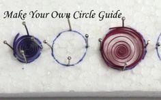 Faça o seu próprio Guia de dimensionamento do círculo por Paper Quilling