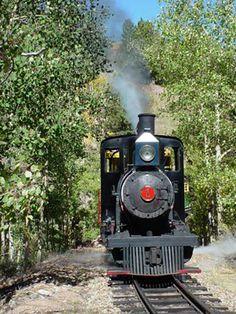 Cripple Creek & Victor Narrow Gauge Railroad in Colorado
