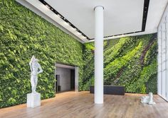 Habitat Horticulture completes largest indoor living green wall in California