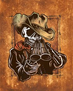 Wild-West Art - Draw! by David Lozeau