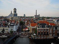 Leiden vanaf V Photo Evert Pronk
