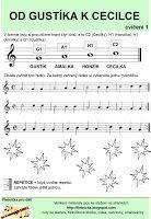 Flétnička: ledna 2012 Periodic Table, Sheet Music, Preschool, Periodic Table Chart, Periotic Table, Kid Garden, Kindergarten, Music Sheets, Preschools
