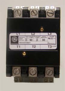 ge cr353xaab 75a 90a auxiliary contact kit spdt definite ge cr353ff3ba1 60a definite purpose contactor standard 3 pole