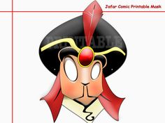 Unique Jafar Comic Printable by AmazingPartyShop on Etsy