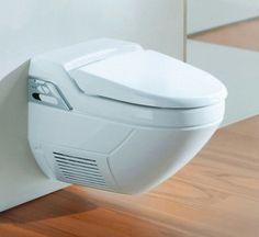 Geberit modern bathroom toilet bidet