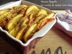 Teglia patate e speck