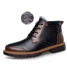 Big Size Men's Vintage Retro High Top Lace Up Flat Casual Boots is fashionable, come to NewChic to buy mens boots online. Mens Boots Fashion, Big Men Fashion, Latest Mens Fashion, Fashion Vest, Fashion Shirts, Fashion Guide, Fashion Rings, Fashion Clothes, Fashion Ideas