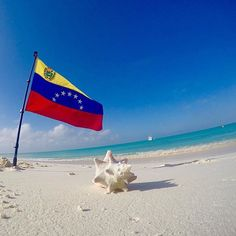 No hay descripción de la foto disponible. Venezuela Flag, Life App, Exotic Places, Caribbean Sea, Beach Wear, White Sand Beach, Archipelago, What A Wonderful World, People Around The World