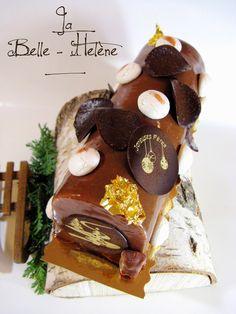 J'en reprendrai bien un bout...: La Belle-Hélène - Bûche Noël 2014 -